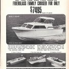1968 Revline Boats Ad- Nice Photos of 4 Models
