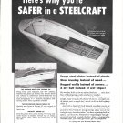 1950 Steelcraft Boats Ad- Nice Photos of 4 Models
