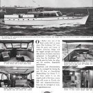 1953 Holland American Yachts Ad- Nice Photos of 64' Caribbean