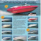 1980 Crownline Boats Color Ad- Nice Photo of 10 Models