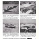 1959 Weldwood Marine Plywood Ad-Photo of Power Cat-Hydroplane-Racing Boats