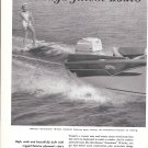 1959 Douglas Fir Plywood 2 Page Ad-Nice Photo Stamas Americana 16' Boat-Hot Girl