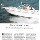 1997 Tiara 2900 Coronet Yacht Review & Specs- Nice Photos