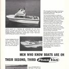 1968 Penn Yan Boats Ad- Photos of 23'- 22' & 14' Models