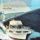 1970 Chris- Craft 38' Commander Sedan Yacht Color Ad- Nice Photo