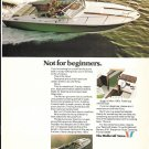 Old Wellcraft Marine Color Ad- Nice Photo of Nova 24'