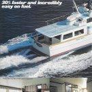 1974 Meridian 48 Fiberglass Trawler Yacht 2 Page Color Ad- Nice Photos