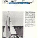 1974 Pearson 26' Weekender Yacht Ad- Nice Photo