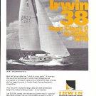 1970 Irwin 38 Yacht Ad- Nice Photo