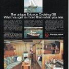 1977 Ericson Cruising/ 36 Yacht Color Ad- Nice Photos