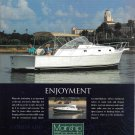 2001 Mainship Pilot 34 Series Yacht Color Ad- Nice Photo
