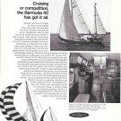 1968 Henry R Hinckley Yachts Ad- Nice Photos of Bermuda 40