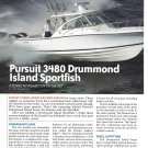 2006 Pursuit 3480 Drummond Island Sportfish Boat Review & Specs- Nice Photos