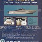 1987 Tempest Marine Color Ad- Specs- Nice Photo