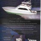 1998 Viking 55' Convertible Yacht Color Ad- Nice Photo