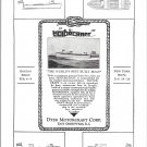 1929 Dyer Motorcraft Corp Ad- Nice Photo