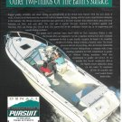 1996 Pursuit Boats Color Ad- Nice Photo