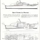 1950 Moeckel 38' Sport Cruiser Boat Review