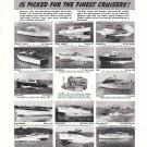 1950 Gray Marine Motor Co Ad- Photos of 14 Yachts-Higgins-Leek-Hodgdon