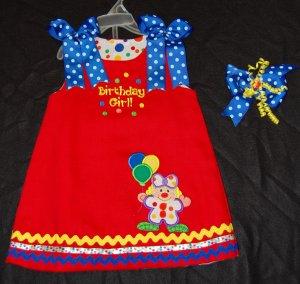 Over the Big Top Circus Dress