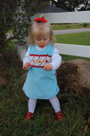 Fall apple dress
