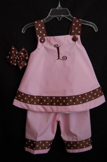 Pink and Brown Callie Set