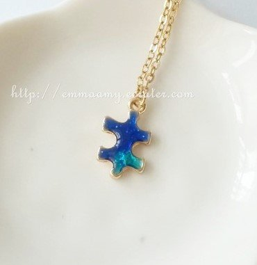 Exquisite Japanese Style Puzzle Star Gold Chain Necklace