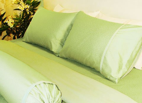 Bed set - King (Green garden)