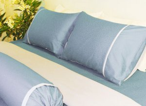 Bed set - King (Summer night)