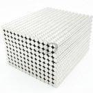 4x3mm (0.16x0.12 inch) 100pcs Disc Round N35 Neodymium Rare Earth Magnets