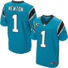 Leach Enterprises has a Cam Newton Carolina Panather Jersey(Blue) for Sale Online