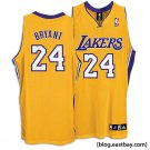 Leach Enterprises has a Kobe Bryant Los Angles Lakers Jersey(Gold) for Sale Online