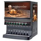 Leach Enterprises has a 8 Hoppers Cappuccino Machine for Sale Online