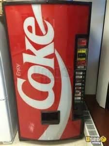 Leach Enterprises has a Coke Soft Drink Vending Machine for Sale Online