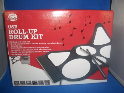 USB Roll Up Drum