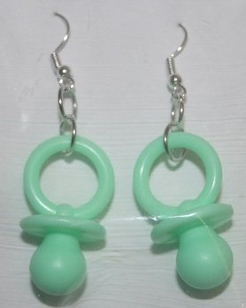 Pacifier Ear Rings