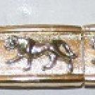 Mountain Lion Gold Bracelet