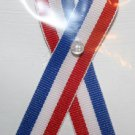 Soldier's Red White and Blue Magnet with Scripture