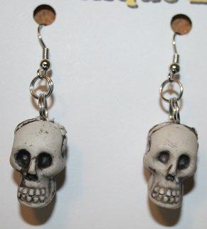 Small Skull Ear Rings Halloween