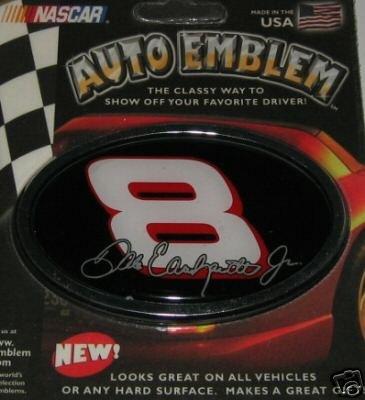 Dale Earnhardt, Jr. NASCAR 3-D Color Chrome Auto Car Emblem
