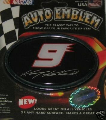 Kasey Kahne NASCAR 3-D Color Chrome Auto Car Emblem