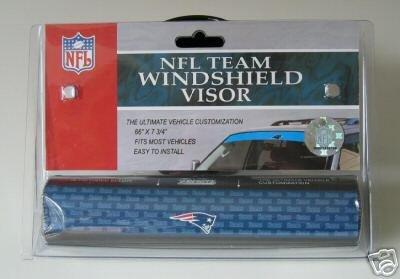 New England Patriots Car Winshield Sun Visor Film Gift