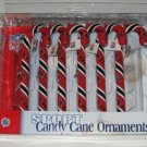 Arizona Cardinals Candy Cane Christmas Tree Ornament Set Gift