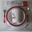 Arizona Cardinals Baby Kids Dinner Set Gift