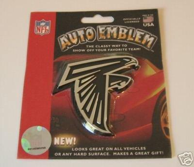 Atlanta Falcons Chrome Auto Car Emblem Logo Gift