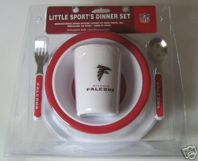 Atlanta Falcons Baby Kids Dinner Set Gift