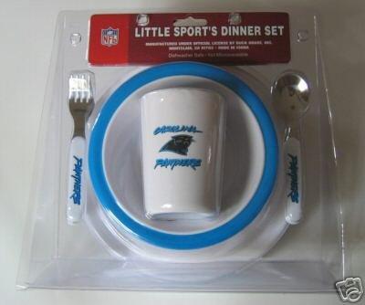 Carolina Panthers Baby Kids Dinner Set Gift