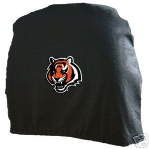 Cincinnati Bengals Auto Car Head Rest Covers Set Gift