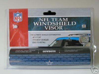 Dallas Cowboys NFL Car Winshield Sun Visor Logo Film Gift