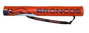 Denver Broncos 6-Pack Can Shaft Cooler w/Strap Gift